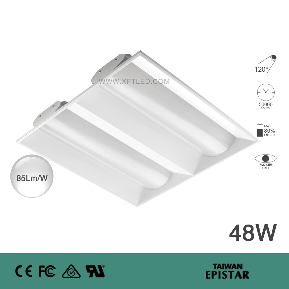 OFFICE FLAT LED PANEL XFT-OL605605-2-48W